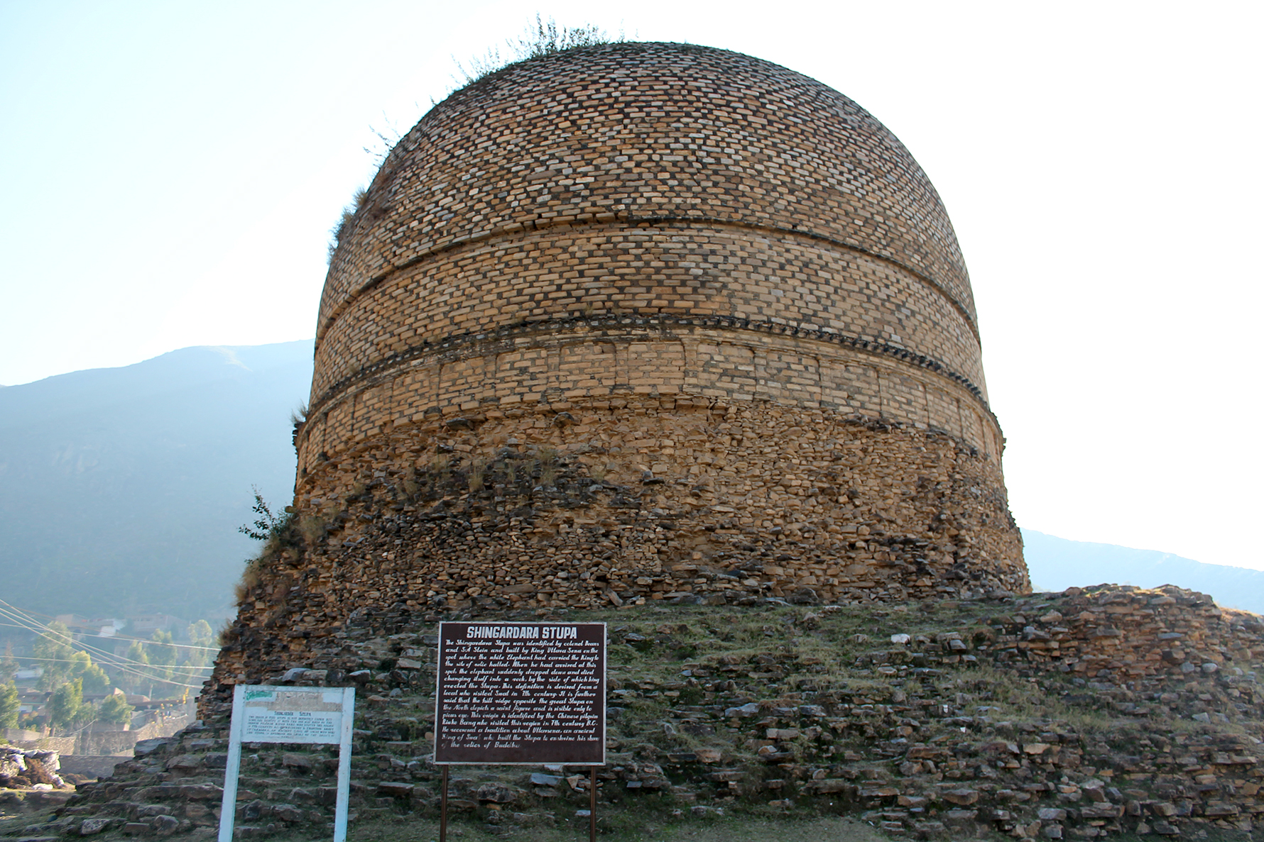 Shingardara Stupa – Buddhist Temple,SWAT