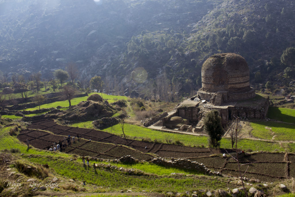 the nudist stupa in Kpk of Pakistan attracts all traveller and explorers