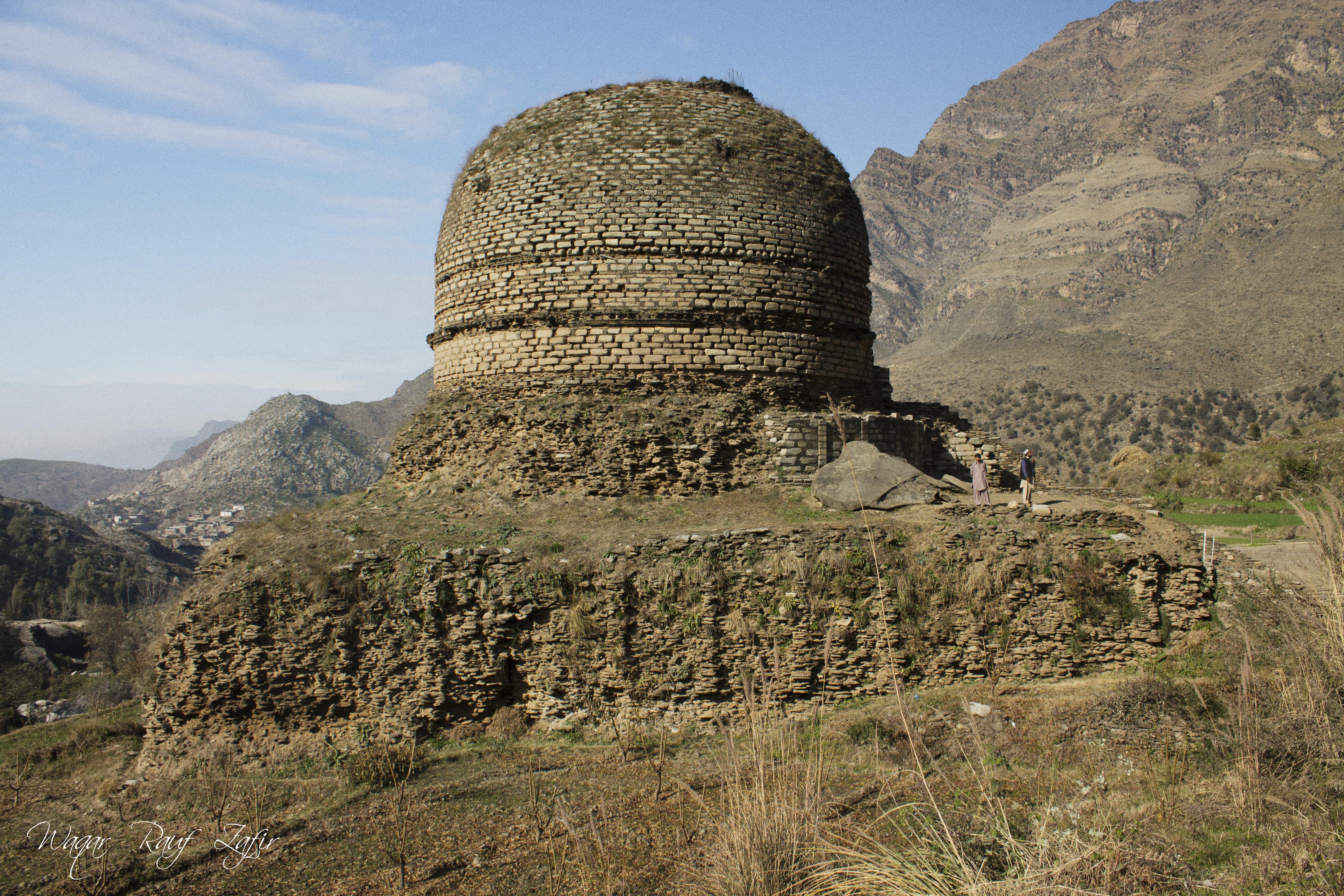 Amluk Dara Stupa,SWAT-A Remarkable Insignia Of Budhism