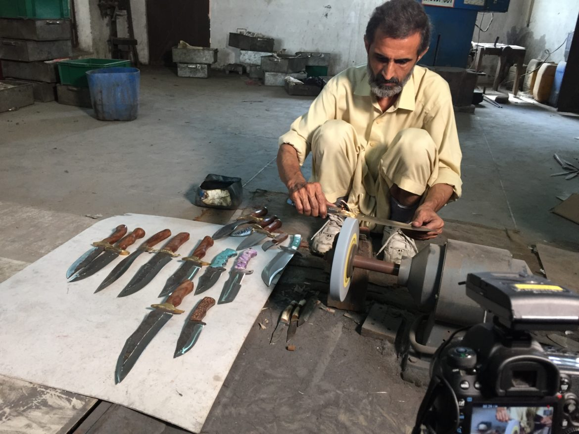 The Fantasy Swords Of Hollywood In Wazirabad,Pakistan