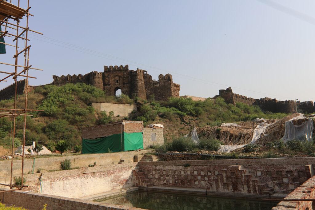 the sacred pond of the gurdwara